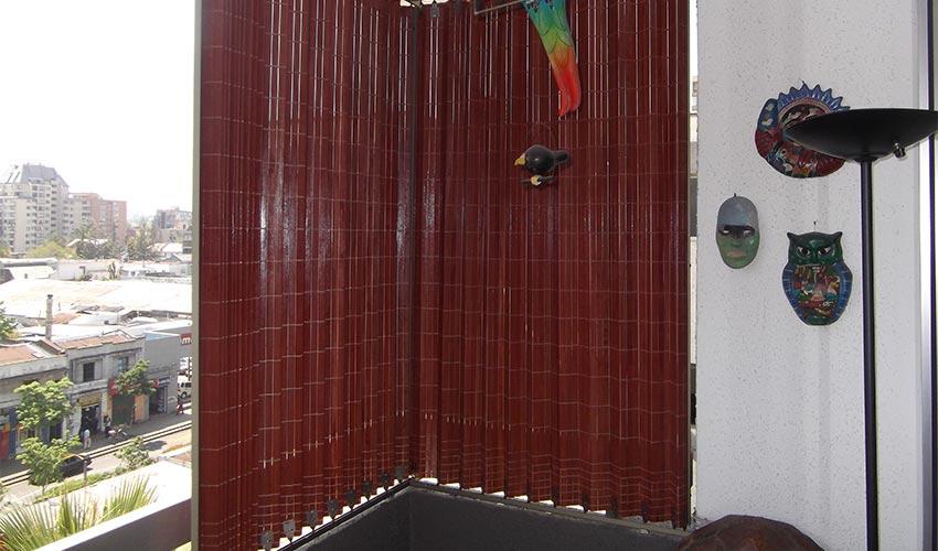 Instalación Cortinas de Madera